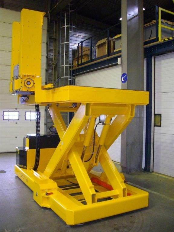 13 tonne custom built lifting platform