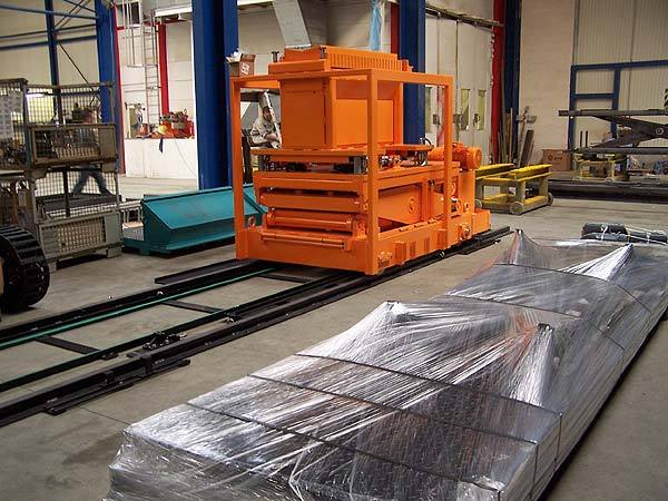 25 tonne coil car for steel stockholders and cut to length lines running on tracks