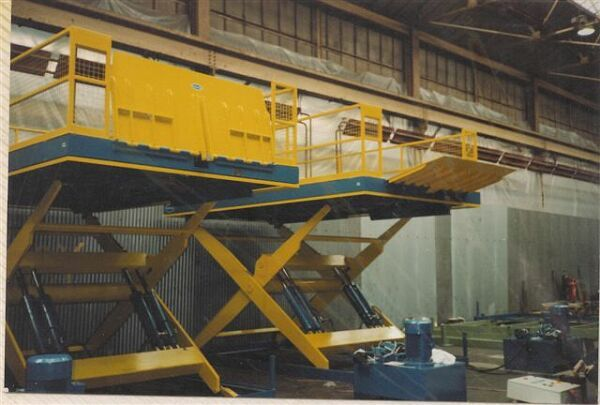 Dock Lifts 10 tonne capacity