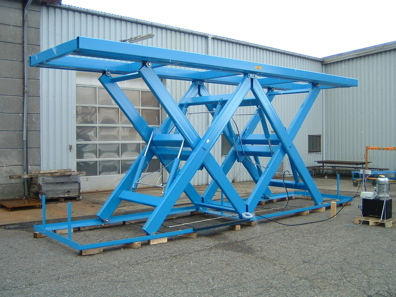 Double Horizontal 12 tonne capacity lift