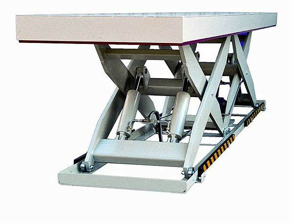 Double Horizontal 4 tonne lift table