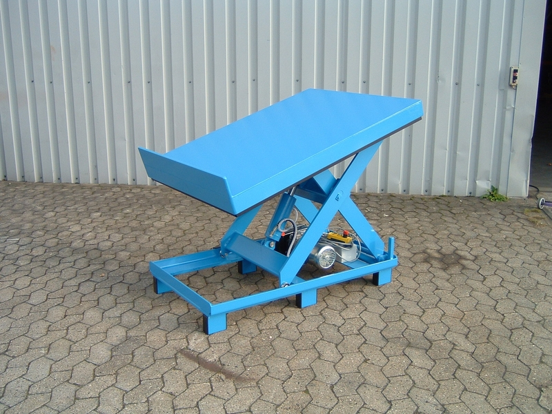 Lift and tilt load positioner