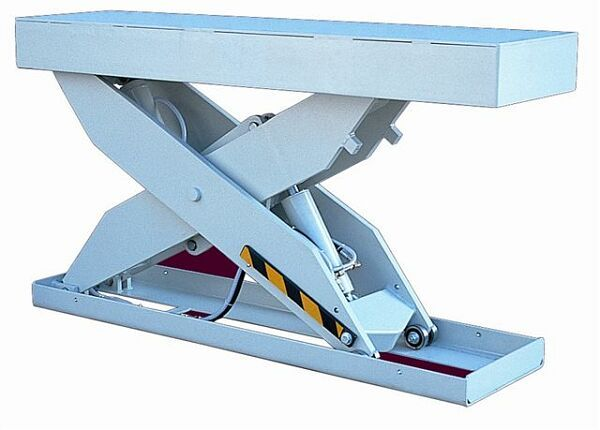 Lift table for handling sheet materials