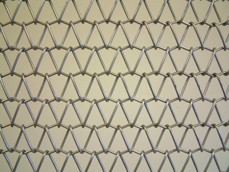 Stainless steel wire mesh safety curtain