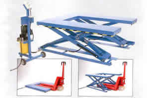 U shaped low closed euro pallet lifter